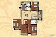 天明城4室2厅2卫143平方米户型图