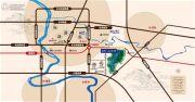 金科山水洲交通图