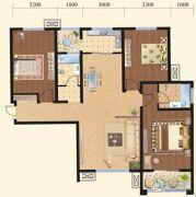 揽盛金广厦3室2厅1卫0平方米户型图