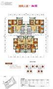 郴阳・融圆3室2厅2卫116平方米户型图