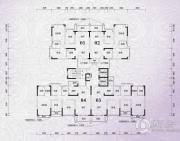 锦绣国际花城3室2厅2卫98平方米户型图