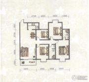 东苑小区4室2厅2卫137平方米户型图