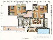 万菱・情侣湾一号5室2厅5卫346平方米户型图