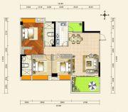 京源上景3室2厅2卫98--116平方米户型图