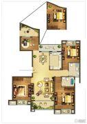 德辉天玺湾4室2厅2卫137平方米户型图