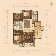 京能・天下川二期悦府3室2厅2卫0平方米户型图
