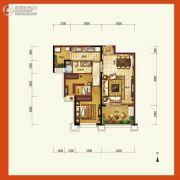 天隆三千海2室2厅1卫94平方米户型图