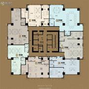 福建大厦1172平方米户型图