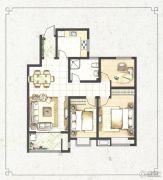 梧桐蓝山3室2厅1卫0平方米户型图