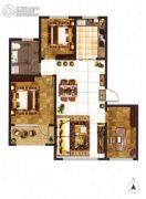 大成门3室2厅0卫110平方米户型图