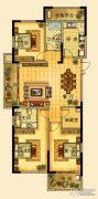 海星御和园3室2厅2卫145平方米户型图