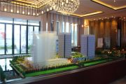 华城科技广场沙盘图