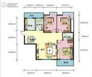 上上坊3室2厅2卫112平方米户型图