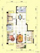 苏通国际新城3室2厅1卫115--120平方米户型图
