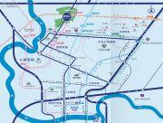 两江健康科技城交通图