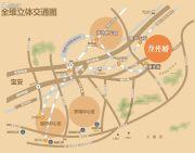 龙光城交通图