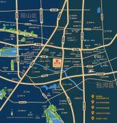 信达天御・中心街交通图