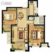 启迪协信・无锡科技城2室2厅1卫78平方米户型图