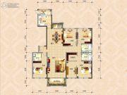 国色天襄4室2厅3卫237平方米户型图
