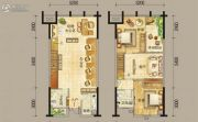 天泰时代星座2室1厅2卫0平方米户型图