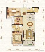 钓鱼台二期3室2厅2卫101平方米户型图
