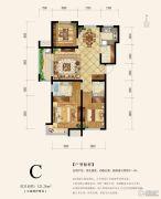 沧兴一品3室2厅2卫0平方米户型图