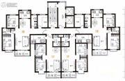 天健水榭花都2室2厅1卫138平方米户型图