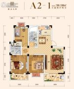 保合太和3室2厅2卫99--108平方米户型图