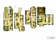 龙湖龙誉城4室4厅4卫385平方米户型图