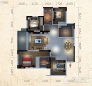 东泓福源国际4室2厅2卫0平方米户型图