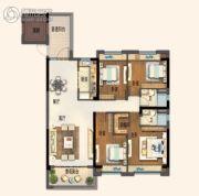 碧桂园欧洲城4室2厅2卫138平方米户型图