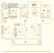 建业・新城半岛3室2厅2卫136平方米户型图