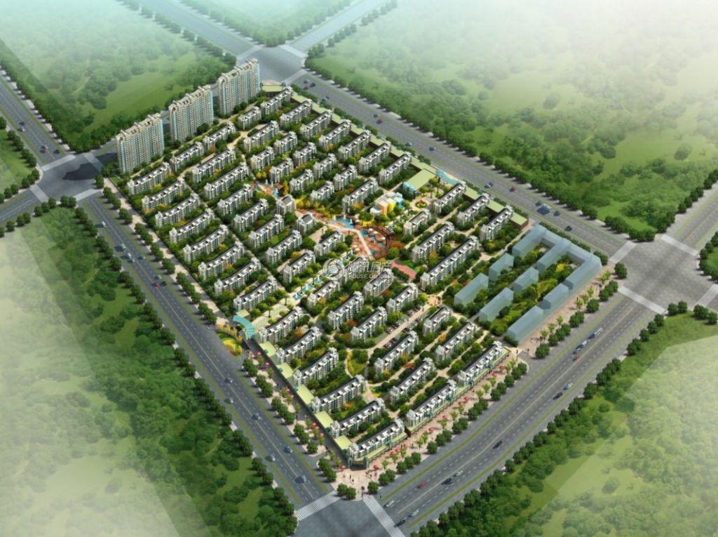 浦东国际花园 效果图