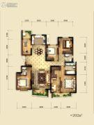 就掌灯5室2厅3卫202平方米户型图