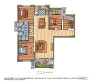 联发欣悦华庭4室2厅2卫0平方米户型图