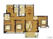 融创玉兰公馆4室2厅0卫129平方米户型图