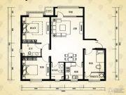 英泰・山海听涛3室1厅2卫0平方米户型图