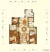 天润・香墅湾1号3室2厅2卫190平方米户型图