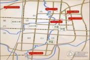 现代奥城交通图
