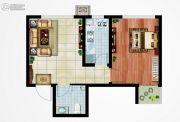 永邦天汇1室1厅1卫50平方米户型图