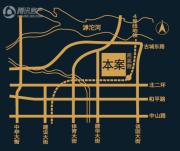恒大财富广场交通图