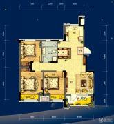 美的城3室2厅1卫0平方米户型图