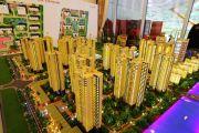 广州万达城沙盘图