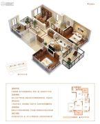当代万国府MOMΛ3室2厅2卫100平方米户型图