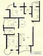星河御城3室2厅2卫123平方米户型图