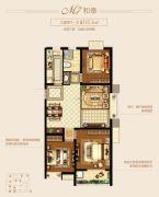 新城里3室2厅1卫115平方米户型图