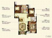 康桥九溪郡3室2厅1卫114平方米户型图