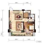 新建中心3室2厅3卫0平方米户型图