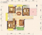 花样年花样城二期3室2厅2卫114平方米户型图