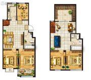 蓁山怡景苑5室4厅2卫88平方米户型图
